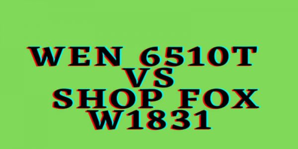 WEN 6510T vs Shop Fox W1831 Oscillating Spindle Sander | Which One is Better?
